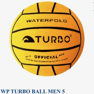 Turbo mens size 5 waterpolo balls - pack of 5