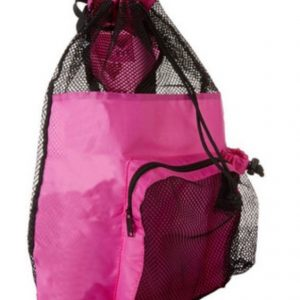 Turbo Mesh bag with pockets - Pink