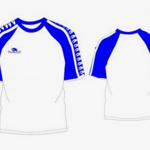 Multi turbo T'shirt - Royal blue / white