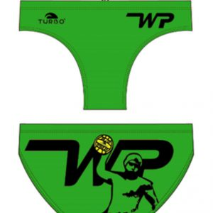 Turbo men's/ boy's waterpolo trunks - WP player- 79242-Green