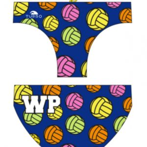 Turbo boy's/ men's waterpolo trunks - Neon Balls - 730804