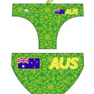 TURBO MEN'S WATERPOLO TRUNKS -Australia- 730275